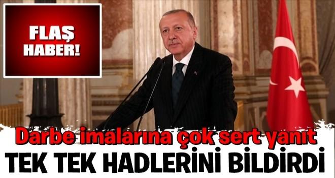 Başkan Erdoğan'dan CHP'ye tepki!