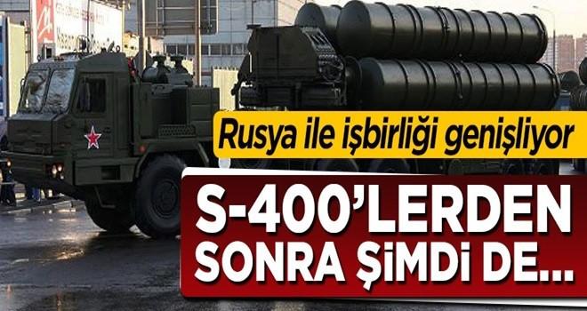 Rusya ile askeri işbirliği genişliyor! S-400'lerden sonra şimdi de...