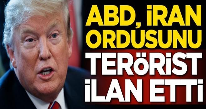 ABD Başkanı Trump'tan flaş İran Devrim Muhafızları açıklaması
