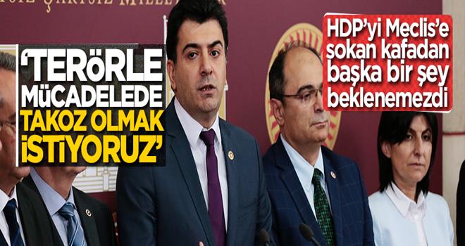 CHP terörle mücadelenin önünde takoz olmak istiyor