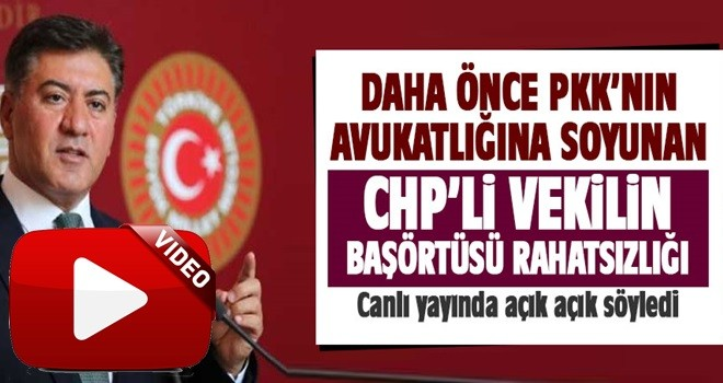 CHP'li vekil Murat Emir'in başörtüsü rahatsızlığı