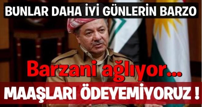 Düşük bütçe payı Barzani'yi zor duruma soktu