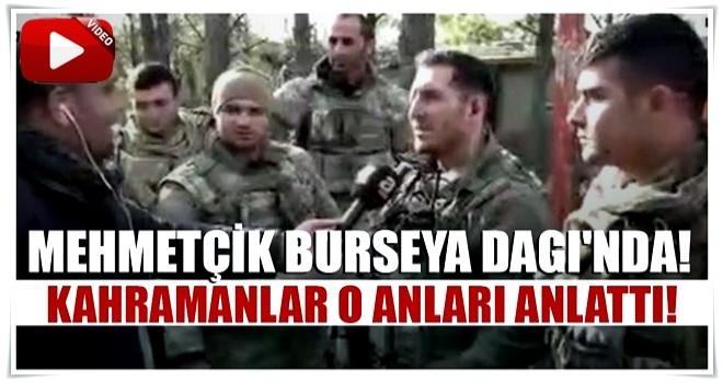 'Sefer bizim zafer ALLAH'ındır!' Mehmetçik Burseya Dağı'nda...