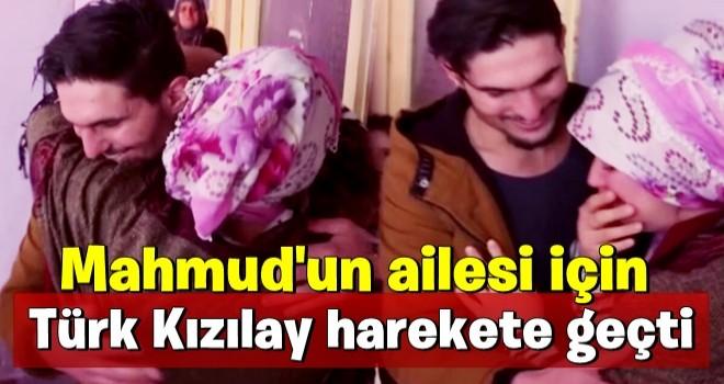 Suriye'li Mahmud'un ailesi için Türk Kızılay harekete geçti!