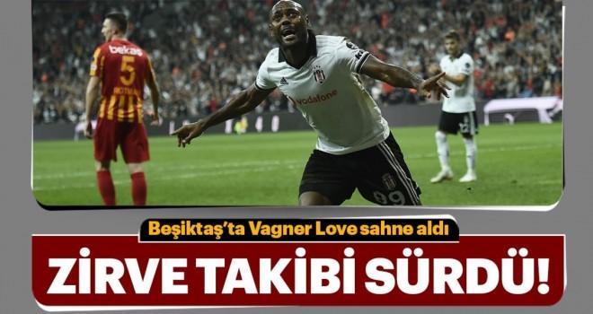 Beşiktaş zirve takibini sürdürdü