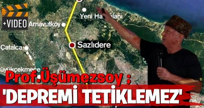 Deprem Bilimci Prof. Dr. Şener Üşümezsoy: