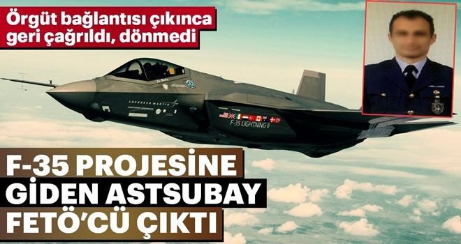 FETÖ'cü astsubay F-35 için ABD'ye gitti dönmedi