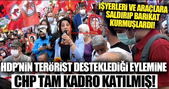 CHP'li başkandan yasadışı eyleme destek!