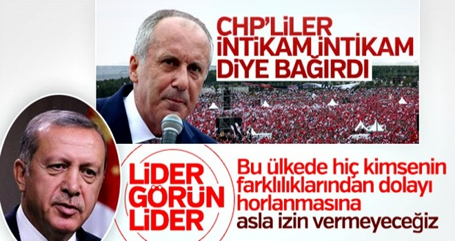 Erdoğan: Milletimiz üzerine düşeni yaptı