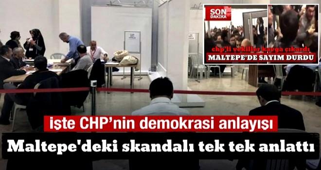 Maltepe'deki skandalı tek tek anlattı