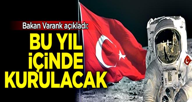 Bakan Varank'tan flaş Türkiye Uzay Ajansı açıklaması