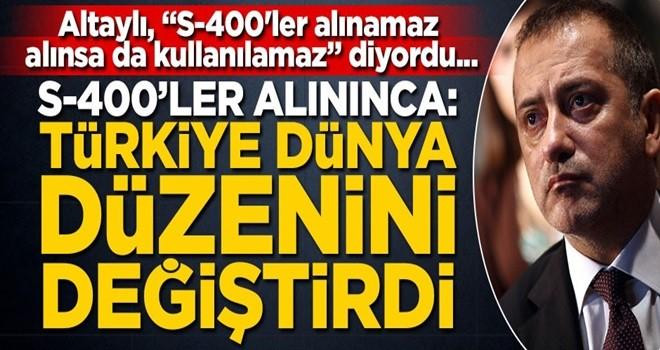 """Altaylı, """"S-400'ler alınamaz, alınsa da kullanılamaz"""" diyordu... Alınınca: Türkiye dünya düzenini değiştirdi"""