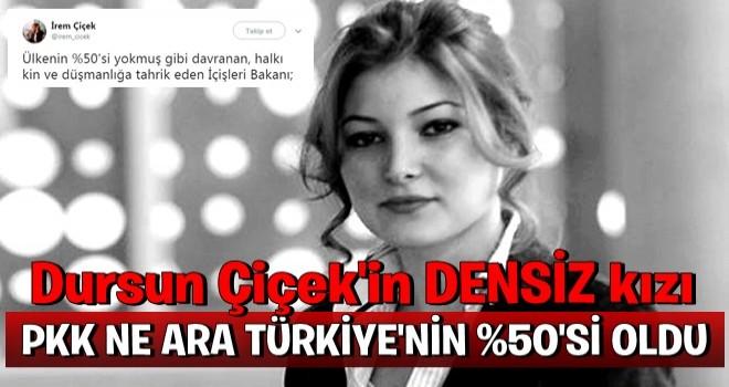Ex CHP'li Dursun Çiçek'in kızıda pkksevici çıktı !!