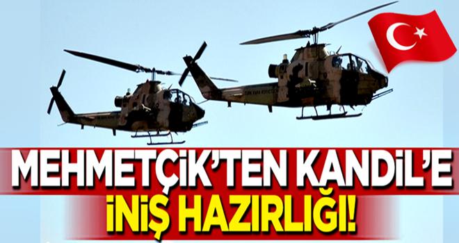 Mehmetçik'ten Kandil'e iniş hazırlığı!