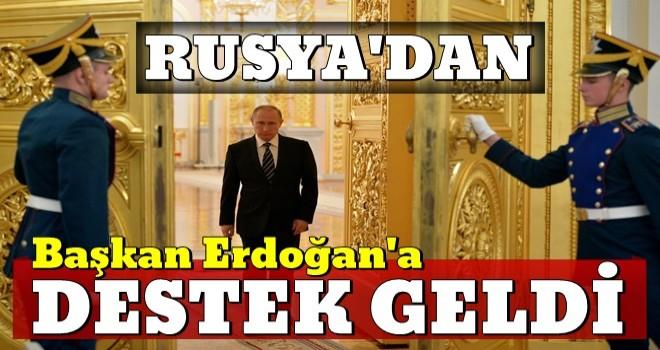 Son dakika: Cumhurbaşkanı Erdoğan'a Kremlin'den milli para birimi desteği!