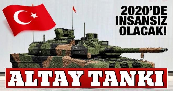 ALTAY tankının T3 üretiminde insansız kuleler olacak
