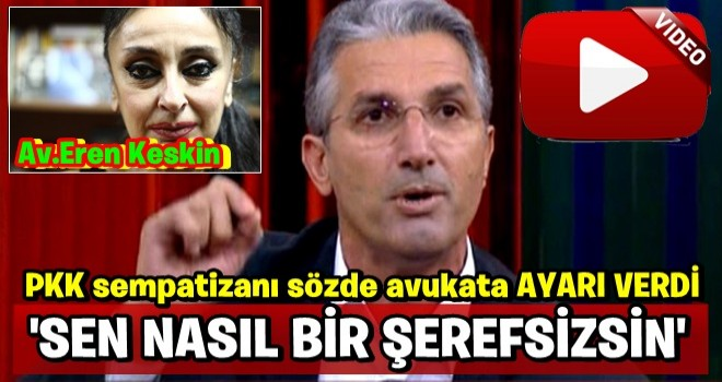 Nedim Şener'den kendisini suçlayan PKK sempatizanı sözde avukata sert tepki!