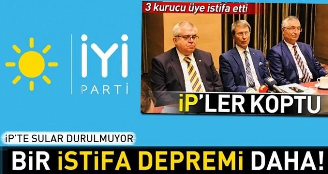 İYİ Parti'de deprem! Mehmet Fatih Eryılmaz istifa etti.