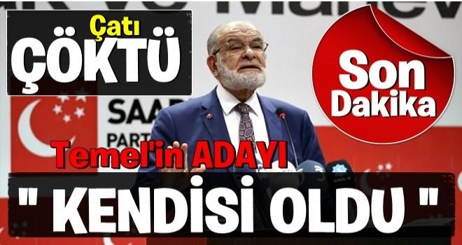 Saadet Partisi'nin cumhurbaşkanı adayı belli oldu! .