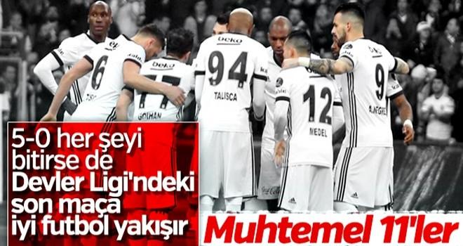 Beşiktaş-Bayern Münih maçı muhtemel 11'leri