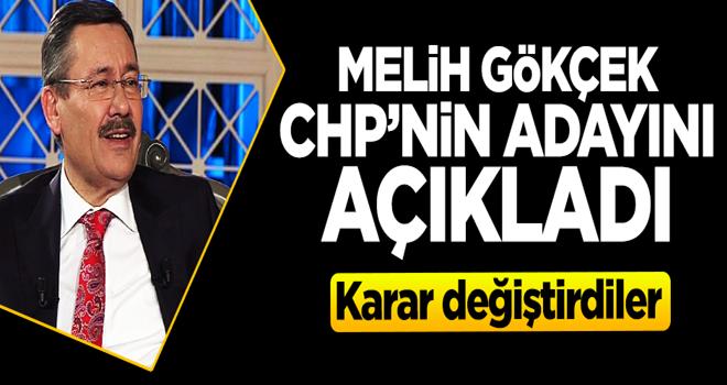 Gökçek CHP'nin adayını açıkladı