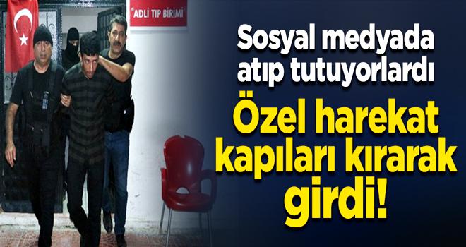 Sosyal medyada atıp tutan PKK'lılar şafak baskını ile paketlendi