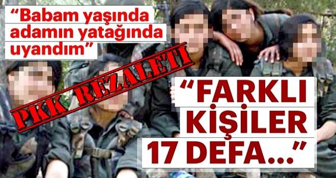 Kandil'de çocuklar cehennemi yaşıyor: 17 kez tacavüze uğradım!
