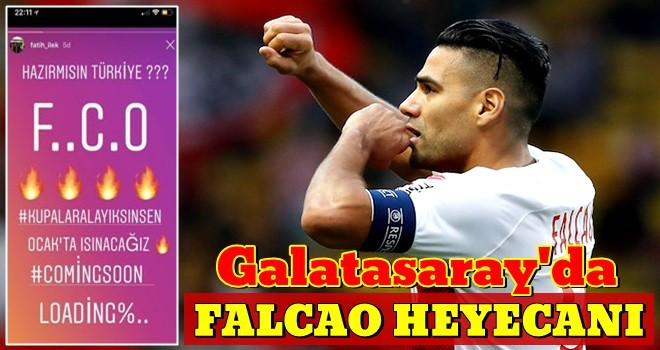 Galatasaray'dan Falcao atağı