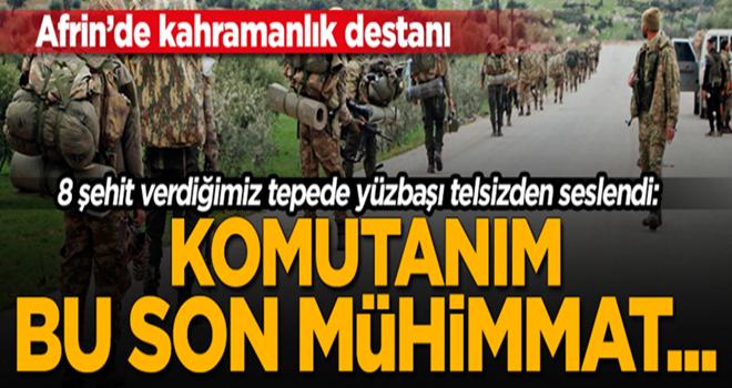 Afrin'de kahramanlık destanı!