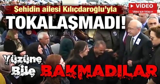 Şehidin ailesi Kılıçdaroğlu'yla tokalaşmadı!