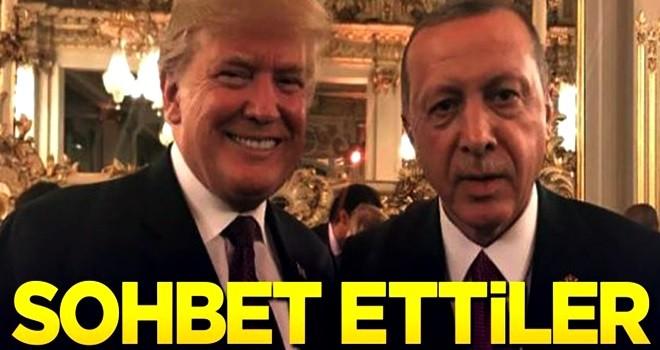Erdoğan ve Trump görüştü!