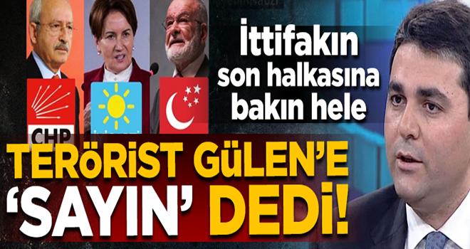 DP lideri Gültekin Uysal, FETÖ elebaşı Gülen'e 'sayın' dedi!