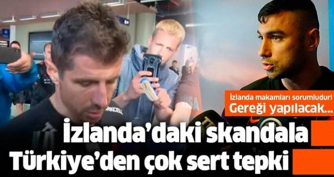 İzlanda'da Milli Takım'a pasaport işkencesi! Türkiye'den peş peşe çok sert tepkiler....