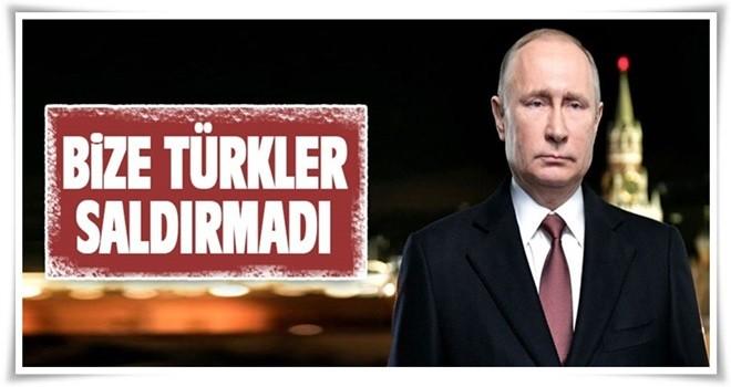 Putin Açıklaması Türkiye'nin Yapılan Saldırı İle İlgisi Yok