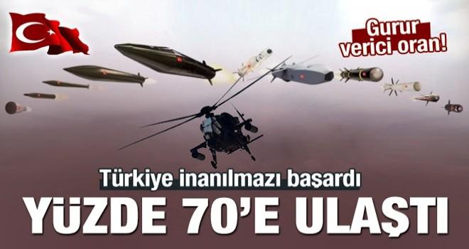 Türkiye savunmada inanılmazı başardı