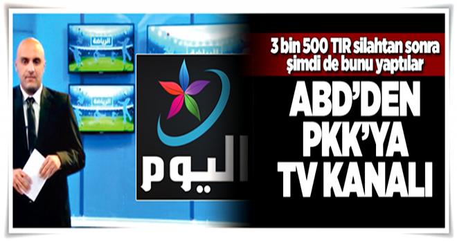 ABD, PKK'ya TV kurdu  .