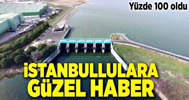 İstanbullulara müjde! Yüzde 100 olarak ölçüldü .
