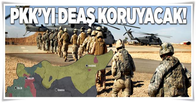 PKK'yı DEAŞ koruyacak  .