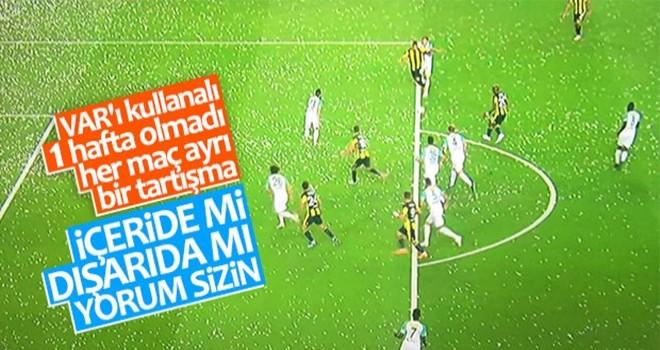 Fenerbahçe'nin penaltısında VAR'a başvuruldu