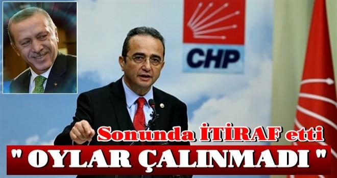 CHP'den açık itiraf: Oylar çalınmadı