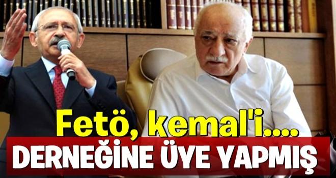 FETÖ Kılıçdaroğlu'nu derneğine üye yapmış