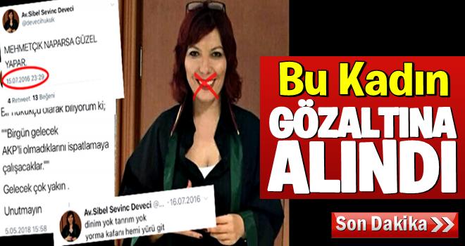 AK Partilileri tehdit eden avukat gözaltına alındı!