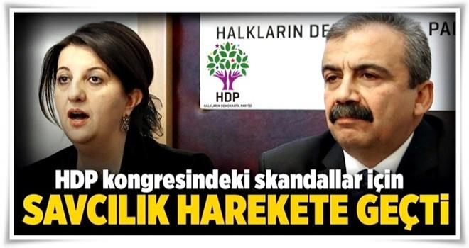 HDP kongresine soruşturma .