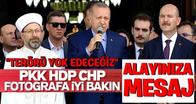 Erdoğan cami açılışında konuştu: