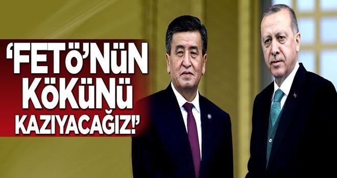 Cumhurbaşkanı Erdoğan: FETÖ'nün kökünü kazımak...