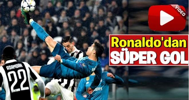 Ronaldo'dan süper gol ..
