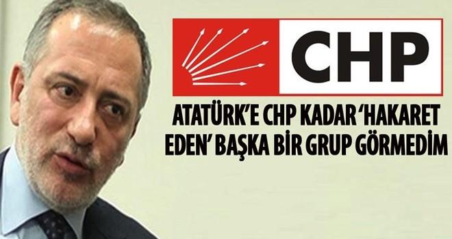 Fatih Altaylı: Atatürk'e CHP kadar 'hakaret eden' bir başka grup görmedim