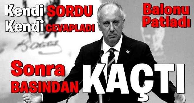 Muharrem İnce CHP'yi canlı yayında topa tuttu! Seçim gecesi neler yaşandı?