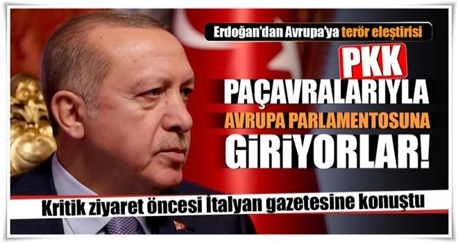 Cumhurbaşkanı Erdoğan: AB'den beklentimiz yapıcı bir tutum izlenmesidir