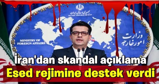 İdlib'deki hain saldırı sonrası İran'dan skandal Türkiye açıklaması